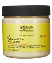 bigelow lemon body cream