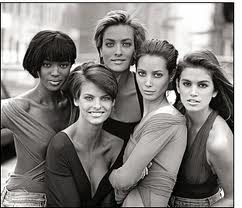supermodels 90's - vogue